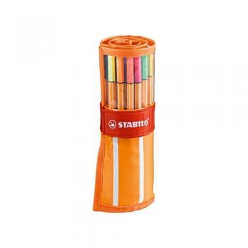 Cuộn 30 cây bút lông kim STABILO point 88 PT8830R